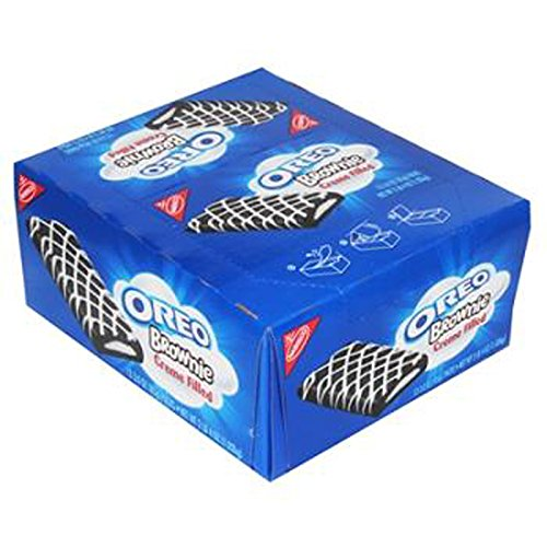 Nabisco Oreo Brownies Creme Filled, 12 Count (COOKIE&CRACKER - SNACK SIZE)