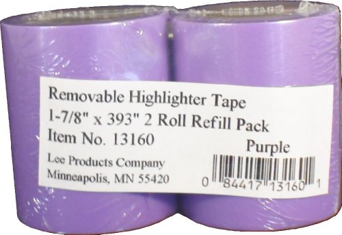 (Lee Removable Highlighter Tape, 1-7/8