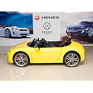 Henes-Broon-F830-with-Tablet-PC-12V-Kids-Ride-On-Car-Battery-Powered-Wheels-MP3-Remote-Control-RC-Yellow