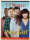 TV World Magazine October 9-15 2011 New Girl Lamorne Morris Jake Johnson Max Greenfield Zooey Deschanel