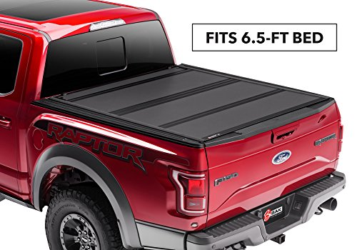 Super Cab 6' Box - BAK Industries BAKFlip MX4 Hard Folding Truck Bed Cover 448330 2017-18 FORD Super Duty 6' 9