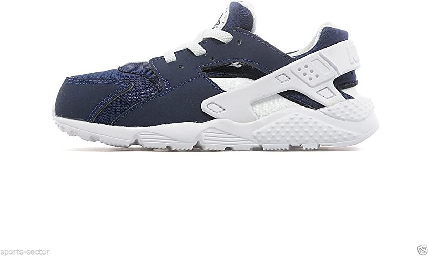 Nike Air Huarache Run Infants Toddlers Trainers Shoes Navy/White ...