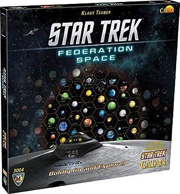 STAR TREK Catan Federation Space Map - Expansión de Juego de Mesa ...