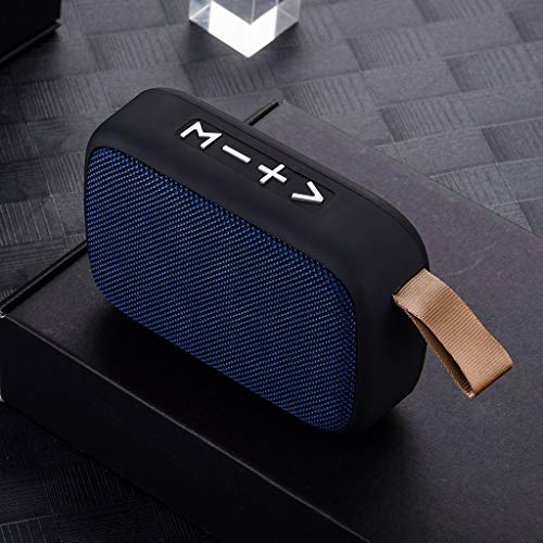 SUPPION Fashion Solid Color Fabric Portable Wireless Stereo SD Card FM Bluetooth Speaker for Smartphone Tablet Stereo Speaker