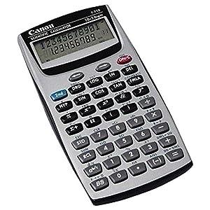 """Canon CNMF605 Scientific Calculator, Easy-to-read Display, 3.4"""" x 8.9"""" x 14.1"""", Black, Plastic, 1 Each"""