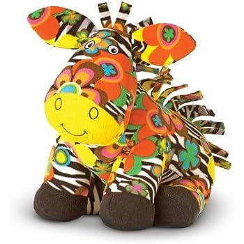 Melissa & Doug Zelda  Zebra - Patterned Pal Stuffed Animal