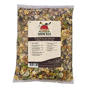 Seedzbox mezcla premium de semillas y pellets para hámsteres, jerbos y ratones. Comida para roedores, natural, sana…