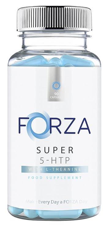 FORZA Super 5-HTP 200mg - Reforzador del estado de ánimo y del sueño - Mina de 90 Cápsulas: Amazon.es: Salud y cuidado personal