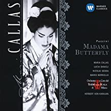 Puccini: Madama Butterfly (complete opera) with Maria Callas, Lucia Danieli, Nicolai Gedda, Herbert von Karajan, Chorus & Orchestra of La Scala, Milan by CALLAS / GEDDA / ORCH DEL TEATRO ALLA SCALA / KARAJAN (2004-02-12)