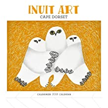 Inuit Art: Cape Dorset 2018 Mini Wall Calendar / Art Inuit: Cape Dorset – Mini-Calendrier Mural 2018