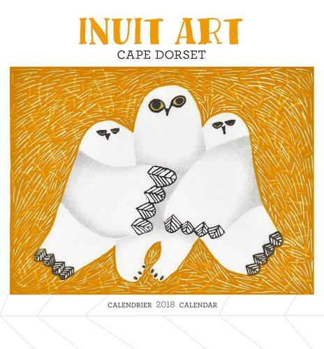 Inuit Art - Cape Dorset 2018 Mini Wall Calendar