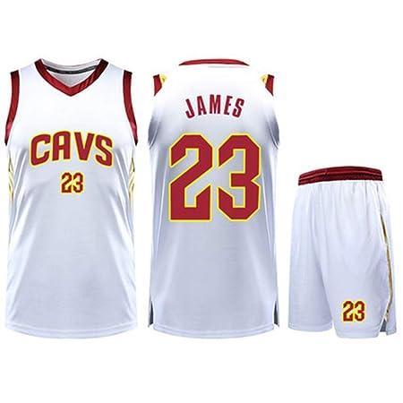HS-QIAN1 23# Lebron James Cleveland Cavaliers Conjunto De Camiseta ...