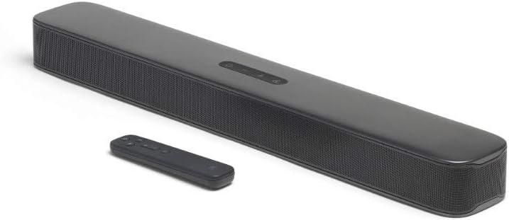 JBL BAR 2.0 ALL IN ONE 2.0ch バスレフポート搭載 ホームシアター/サウンドバーBluetooth/HDMI/ARC対応 ブラック JBLBAR20AIOBLKJN【国内正規品/メーカー1年保証付き】