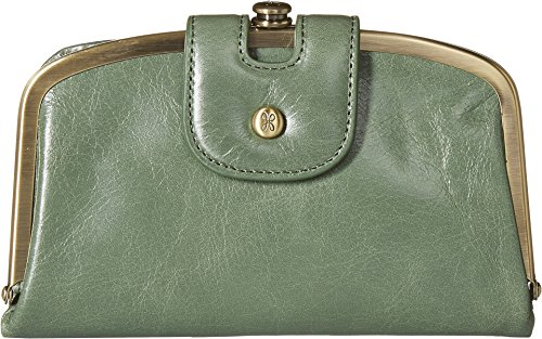 Halo Wallet Hobo Vintage Leather Womens Compact Moss qx4w8145p