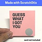 Scratch Scratch Off Stickers
