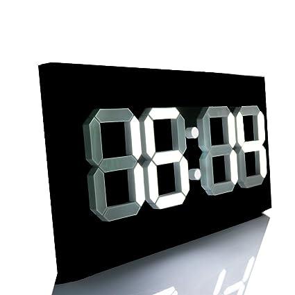 Amazon Com Large Digital Wall Clock Modern Design Display Countdown