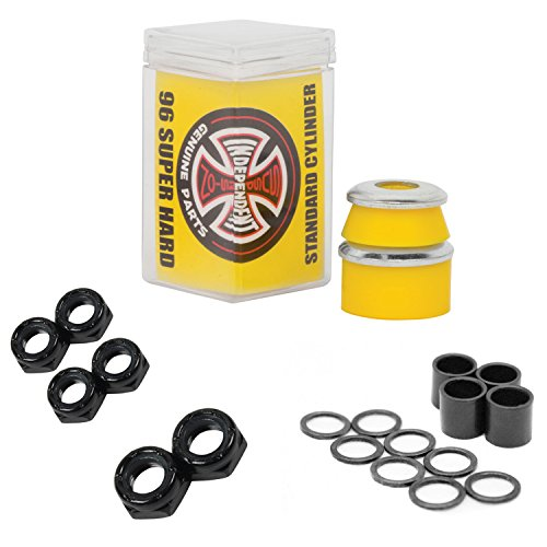 Independent Bushings Cylinder 96a with Dimebag Axle, Kingpin Nuts and Speed Kit