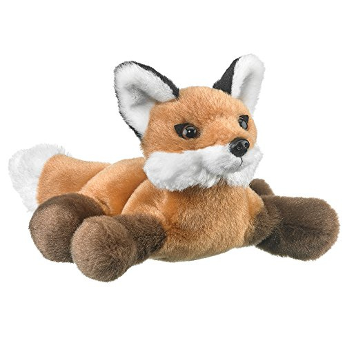 Wildlife Artists Red Fox Plush Finger Puppet Toy, 7