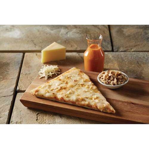 The Max Real Slice Extra Cheese Whole Grain Buffalo Chicken Pizza, 4.8 Ounce -- 72 per case.