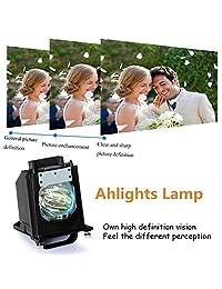Ahlights 915P061010 915P061A10 DLP - Bombilla de repuesto para televisores Mitsubishi