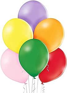 ocballoons - Paquete de 100 globos de látex, 30 cm, colores surtidos, PALL12ASS: Amazon.es: Juguetes y juegos