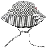 Zutano Baby Candy Stripe Sunhat, Black, 18M (12-18 Months) offers