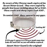 Smart Meter Guard EMF Shield Cover Blocks 5G