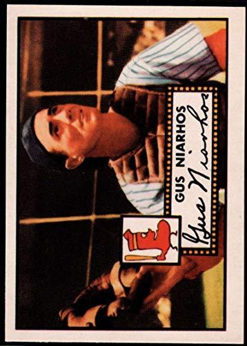 Baseball MLB 1983 Topps 1952 Reprint #121 Gus Niarhos Red Sox