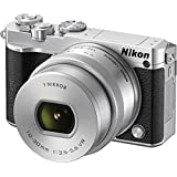 Nikon 1 J5 Mirrorless Digital Camera with 10-30mm Lens Silver