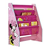 Disney Minnie Mouse Kids Sling Bookcase - Bedroom Storage by HelloHome