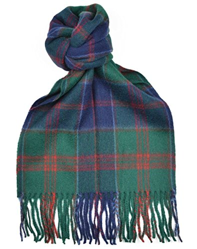 Lambswool Scottish Stewart Of Appin Hunting Modern Tartan Clan Scarf Gift