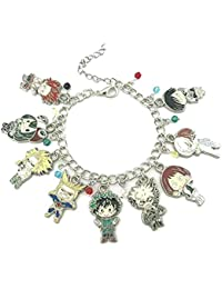 My Hero Academia Fashion Novelty Charm Bracelet Anime Manga Series with Gift Box