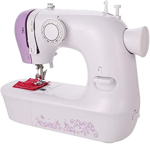 Yuaer Pequeña máquina de coser de mano con máquina de coser ...