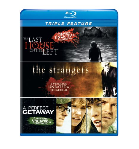 The Last House on the Left / The Strangers / A Perfect Getaway Triple Feature [Blu-ray] -