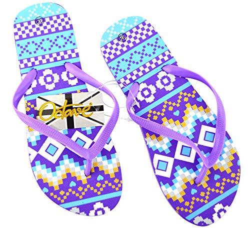 Diversi Per L'estate Stili E Da Octave® Design Colori Aztec Infradito Donna Waves La Purple Spiaggia qzW8W1t