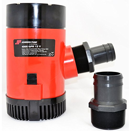 Johnson Pumps 40004 4000 GPH 12V Bilge - Pump 4000 Gph Bilge