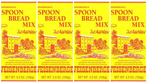 Batter Spoon Bread Mix Weisenberger Mills Ky Proud Products 5.5 Ounce Packages 4 Pack (Ground Bread Mix)