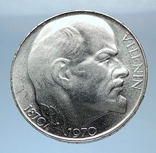 1970 unknown 1970 CZECHOSLOVAKIA AR VLADIMIR LENIN Antique AR coin Good Uncertified