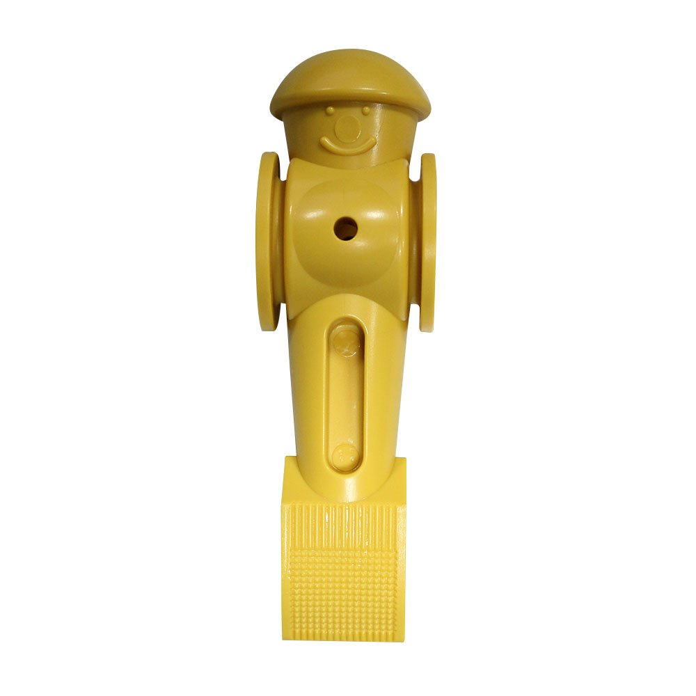 Tornado Foosball Man Counter Balanced - Yellow