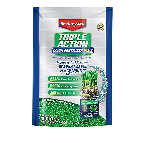 BioAdvanced 709860F Science-Based Solutions Lawn Weed and Feed, 10, 000 sq', Granules (Best Weed In Africa)