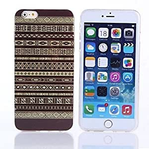 QHY Gold Dust Pattern TPU Cover for iPhone 6 Plus