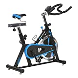 Exerpeutic 1220 LX7 Training Cycle with Computer Monitor and Heart Pulse Sensors, Black