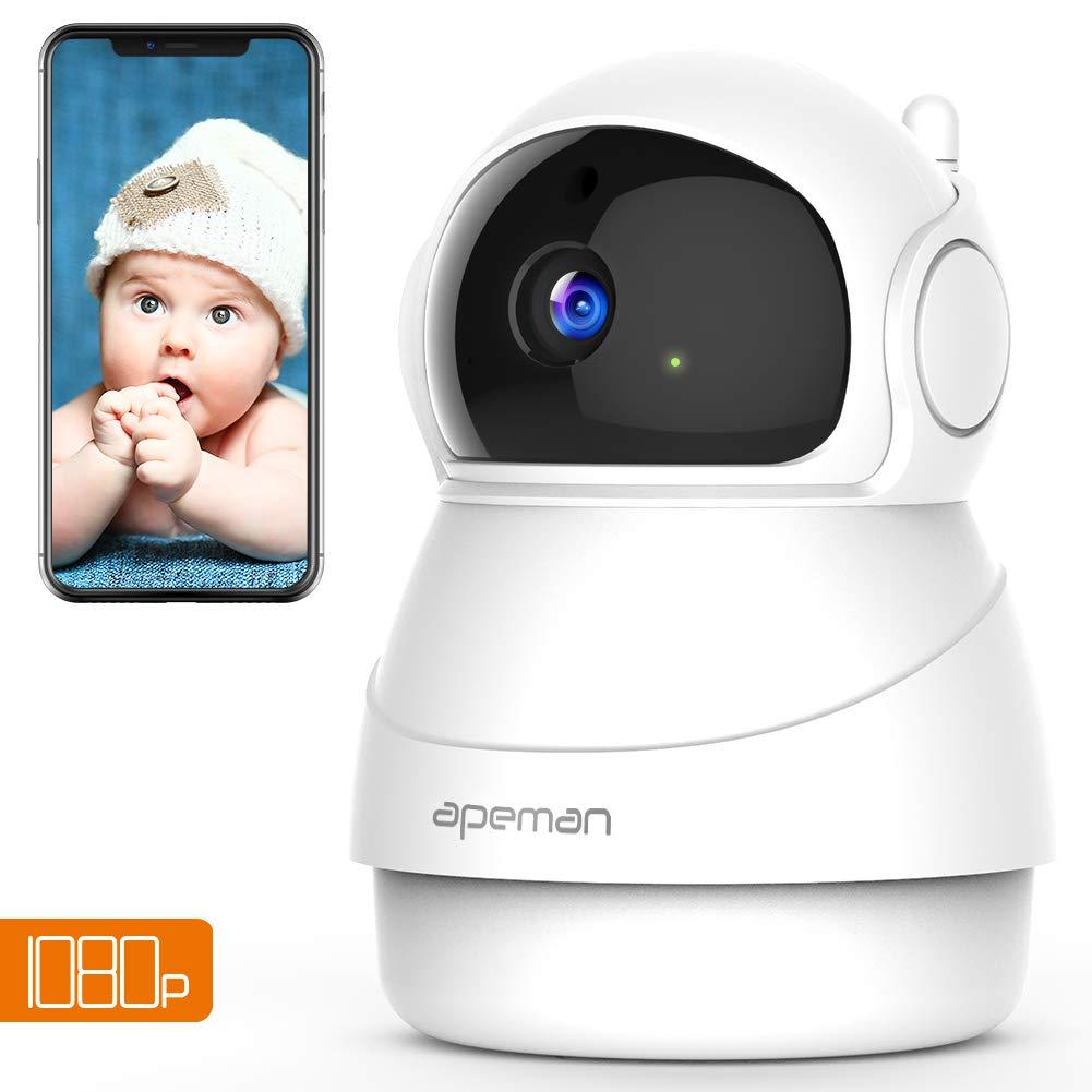 Apeman 1080p Telecamera Sorveglianza Wifi