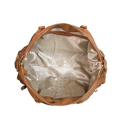 KERI Jane Weekender kitbag Bolso cambiador Camel