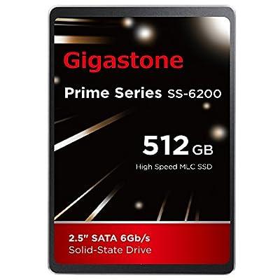 Gigastone SSD Drive GS-SSD-6200-256GB-R by DANE ELECTRONICS