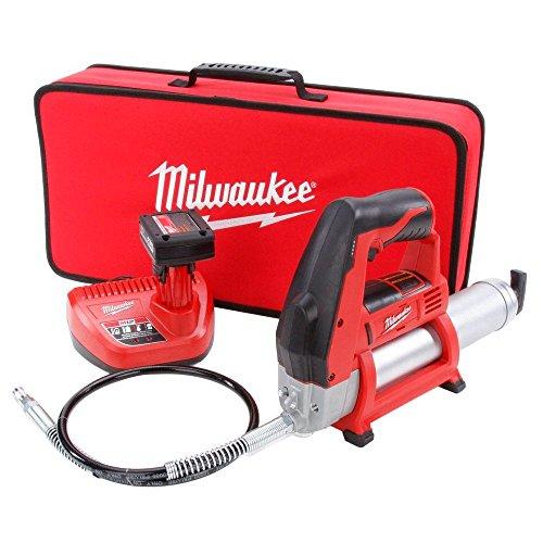 Milwaukee 2446-21XC M12 12-Volt Cordless Grease Gun