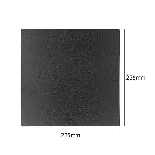 JUNERAIN Impresora 3D 235x235mm Placa magnética de la Plataforma ...
