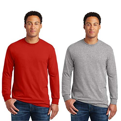 (Gildan Men's G240 Ultra Cotton Long Sleeve)
