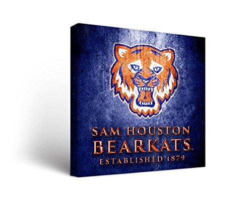 Victory Tailgate Sam Houston State SHSU Bearkats Canvas Wall Art Museum Version - Sam Art Wood
