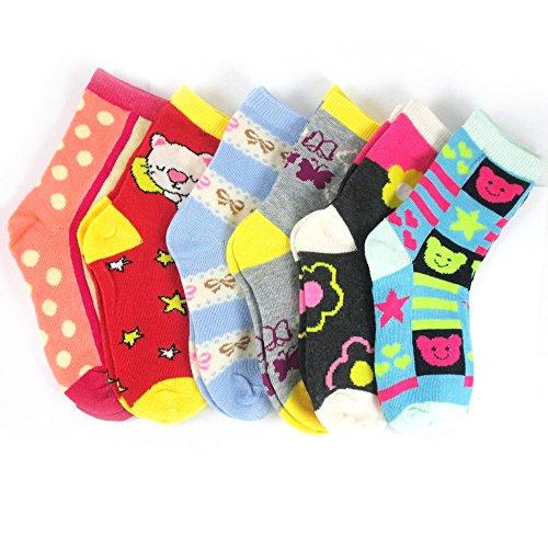 Pairs Girls Socks Toddler Shoe